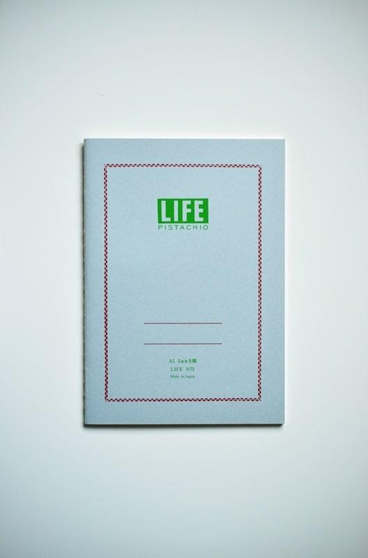Notes Life Pistachio A5