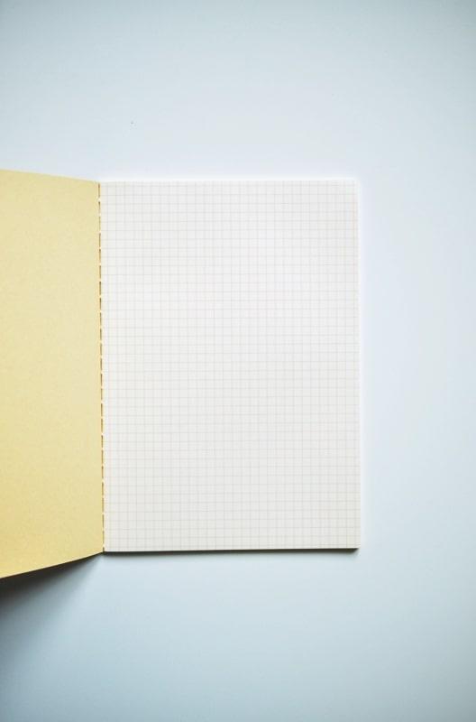 Notes Life Vermillion A5 kratka