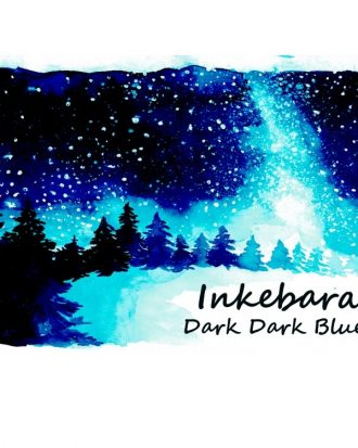 Inkebara Dark Dark Blue atrament ink pióromaniak