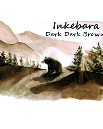 Inkebara Dark Dark Brown Ink atrament pioromaniak