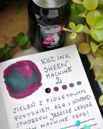 KWZ INK Sheen Machine 2 Sheen Day atrament sklep