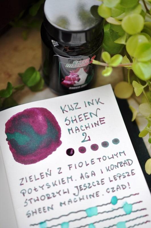 KWZ INK Sheen Machine 2 Sheen Day atrament sklep