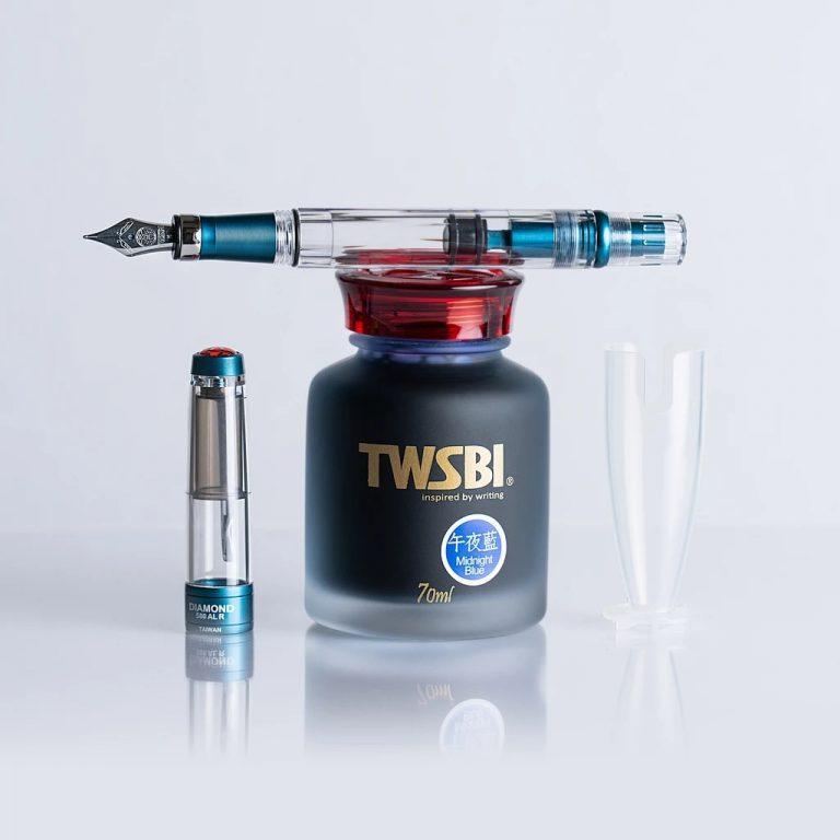 TWSBI 580 ALR Prussian Blue na atramencie