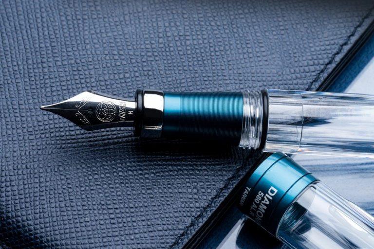 TWSBI 580 ALR Prussian Blue stalowka
