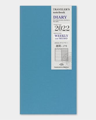 Kalendarz Traveler's Notebook Memo Weekly 2022
