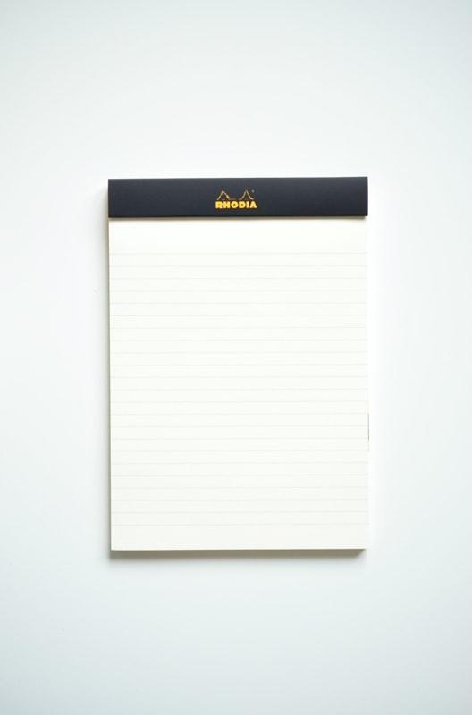 Notes Rhodia R nr 16 czarny w srodku