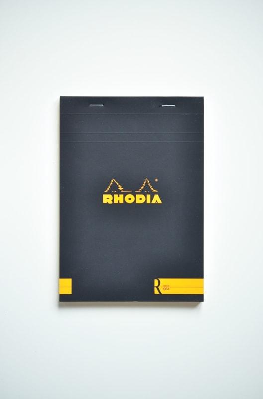 Notes Rhodia R nr 16 czarny