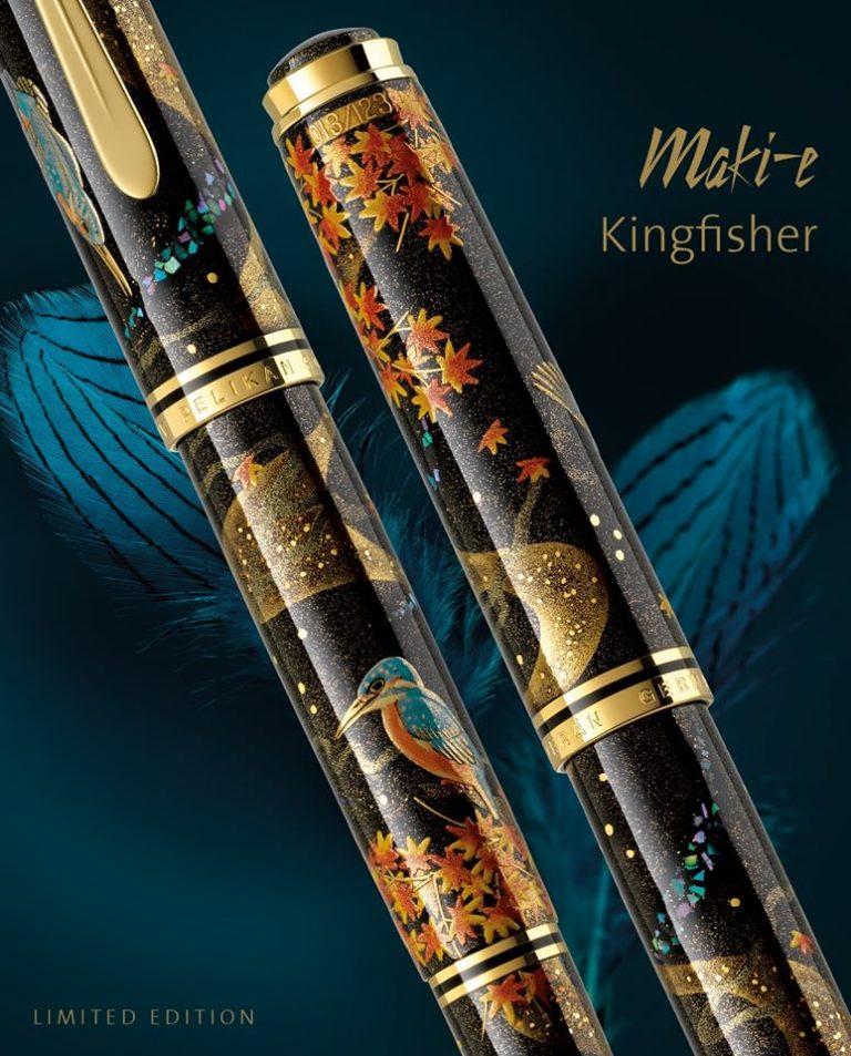 Pelikan M1000 Kingfisher Maki-e