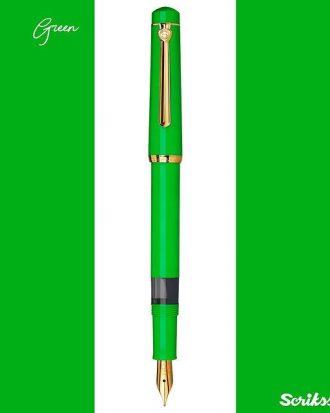 scrikss 419 zielony pioro