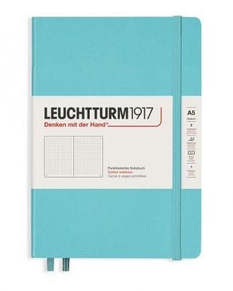notes leutchtturm1917 rising color aquamarine kropki A5