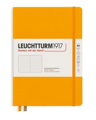 notes leutchtturm1917 rising color rising sun kropki A5