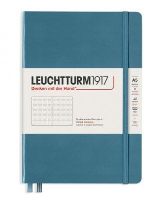 notes leutchtturm1917 rising color stone blue kropki A5