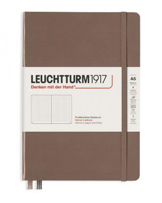 notes leutchtturm1917 rising color warm earth kropki A5