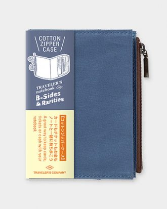 Travelers notebook kieszonka niebieska