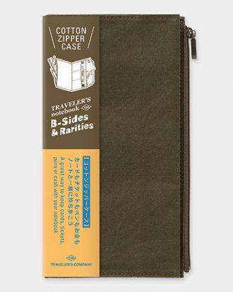 Travelers notebook kieszonka oliwkowa