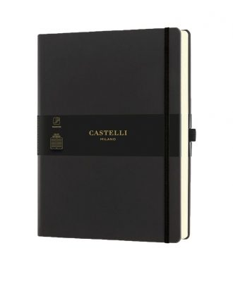 Castelli Aquarela Black Sepia