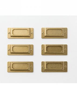 Traveler's Company Brass etykiety