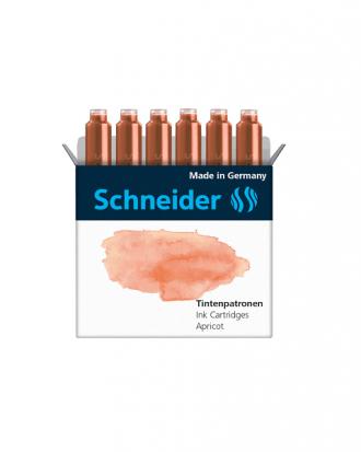 Naboje do piór Schneider Apricot