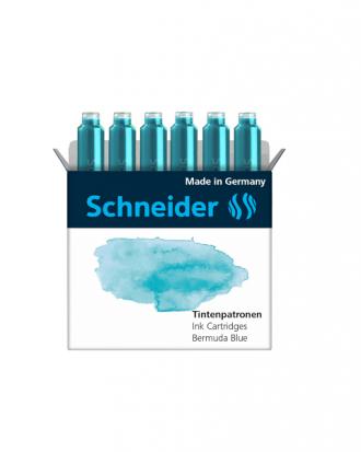 Naboje Schneider Bermuda blue