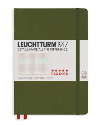 Notes Leuchtturm 1917 Red Dots Army