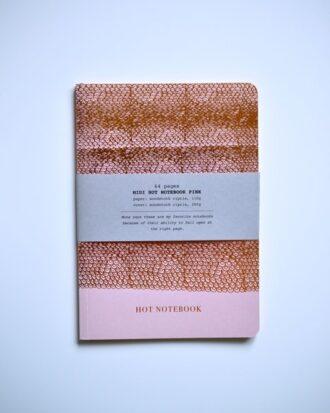 Notes Papette Hot Copper różowy A5