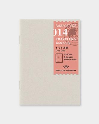 Traveler's Notebook #014 kropki