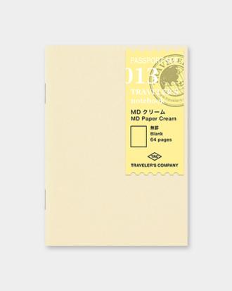 Traveler's Notebook Passport papier MD kremowy